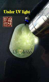 Non-treated, Non-heated, Natural Jadeite Jade from Myanmar (A Jade)
