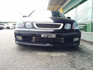 Toyota aristo jzx161 vertex edition