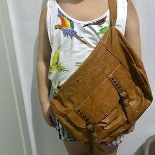 Brown Body Bag