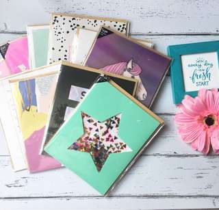 Typoshop assorted greeting cards
