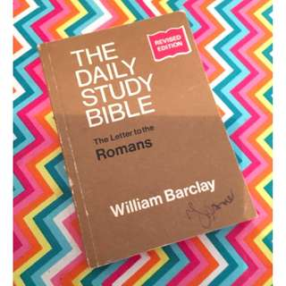 The Daily Study Bible by William Barclay Christian Book