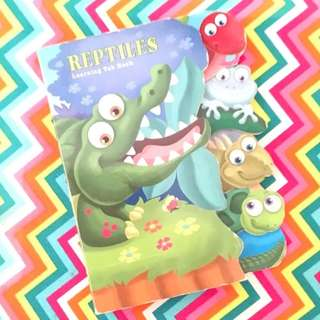 Reptiles Learning Tab Children's Book