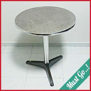 Metal Round Coffee Side Table