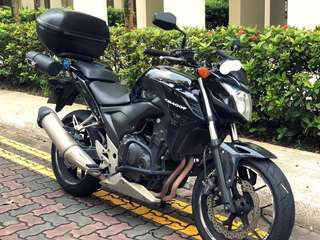 Low Mileage Honda CB400F