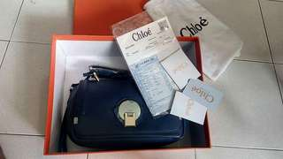 high end bag  chloe complete inclusions with box