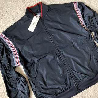 Adidas by Stella McCartney Train Striped Shell Jacket