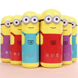 Minion markers - Goodie bag
