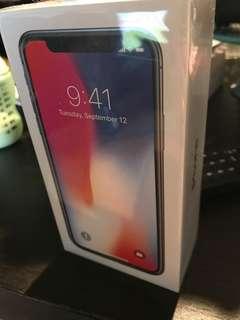 "APPLE iPHONE X 256GB SPACE GREY UNLOCKED BRAND NEW MQA82X/A ""AUSLUCK"""