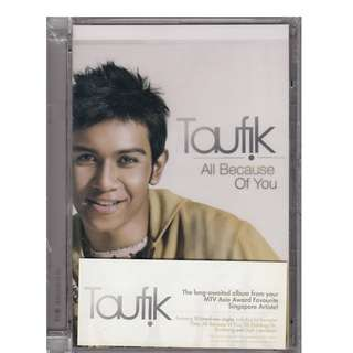 Toufik: <All Because of You> 2006 CD (Brand New)