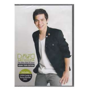 """David Archuleta: <The Other Side Of Down> CD + DVD """"Asia Tour Edition"""" (Brand New)"""