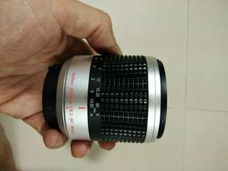 Mini mirror lens for nikon one