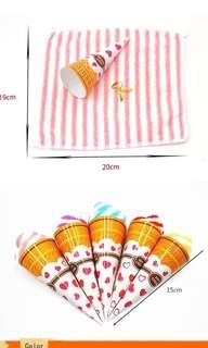 Wedding gift ice cream towel