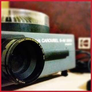 Vintage Kodak Carousel Slide Projector S-AV 2050