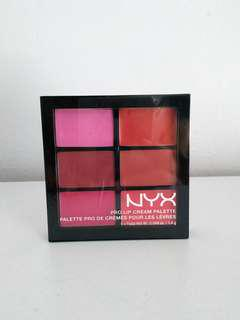 NYX Lip Cream Palette
