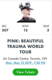 Pink Concert May 2019