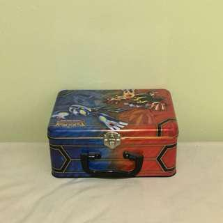 Pokemon lunch box tin