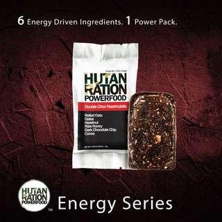 Hutan Ration Powerfood - Double Choc Hazelnutella Energy Bar (PROMO:1 BOX-RM80)