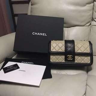 Chanel bag 杏色