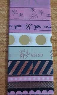 Pink washi sample