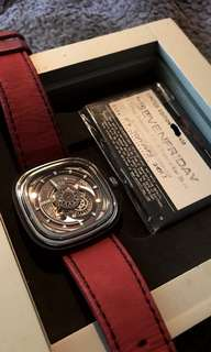 Sevenfriday seven friday p3c-01 hot rod original authentic