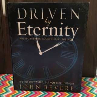 Driven by Eternity by John Bevere Christian Book Set