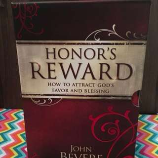 Honor's Reward Set by John Bevere Christian Book