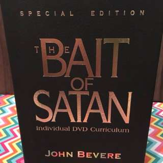 Bait of Satan by John Bevere Set Christian Book
