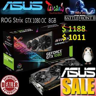 Asus ROG Strix GTX 1080 OC edition 8GB GDDR5X.., ( June 2018 Asus Sales )