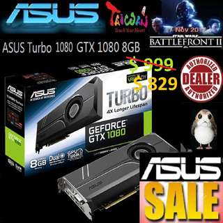 ASUS Turbo GTX 1080 8GB GDDR5X GeForce®.., ( June 2018 Asus Sales )