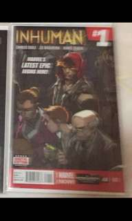Marvel Inhuman Issue 1