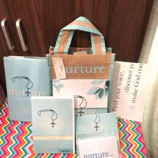 Nurture by Lisa Bevere gift pack Christian Book