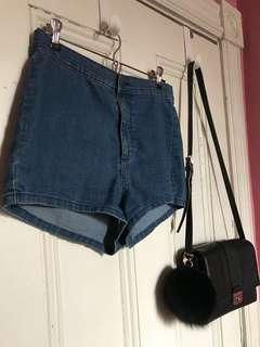jean shorts ~ garage