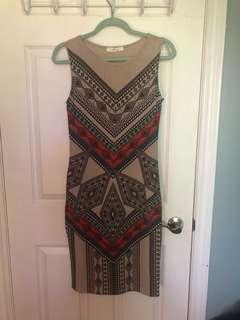 Printed dress!!!