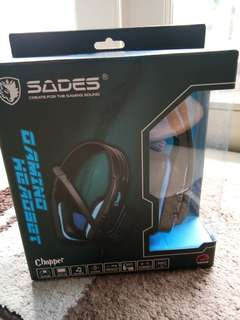 Sades Gaming Headphone