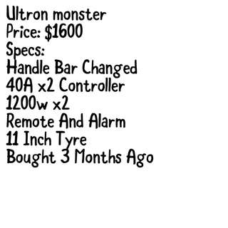 Ultron Monster