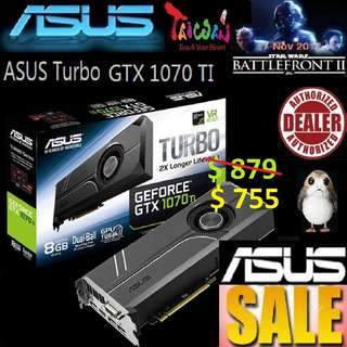 ASUS Turbo GTX 1070 TI graphics GeForce®.., ( June 2018 Asus Sales )