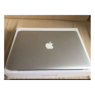 APPLE MacBook Air 13 i5-1.6 HD6000 近全新 電池僅91次 保護貼