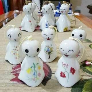 Pajangan Boneka Fungling Kecil Putih Jepang Di Jakarta
