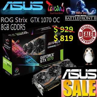 Asus GTX 1070 Strix OC edition 8GB.., ( June 2018 Asus Sales )