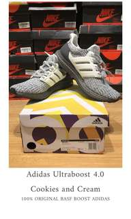 Adidas Ultraboost 4.0 Cookies and Cream 100% ORIGINAL BASF BOOST ADIDAS
