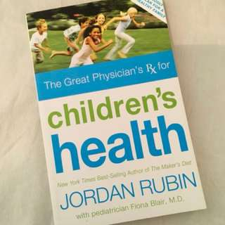 Children's Health by Jordan Rubin Health Book