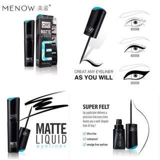 🚚 Menow superfelt matte eyeliner