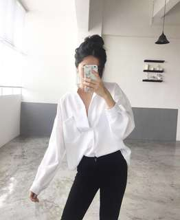 Korean summer comfy blouse