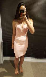BNWT Blush Pink Bustier Dress 8