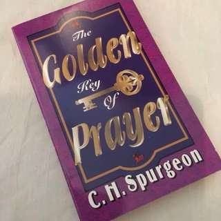 The Golden key of Prayer by C.H. Spurgeon Christian Book