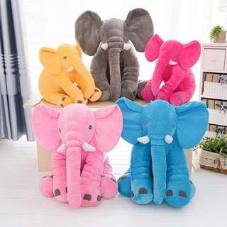Elephant pillow L size