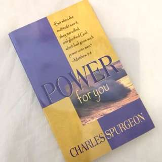 Power For You by Charles Spurgeon Christian Book