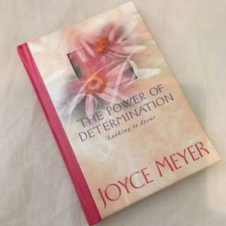 The Power of Determination by Joyce Meyer Christian Book