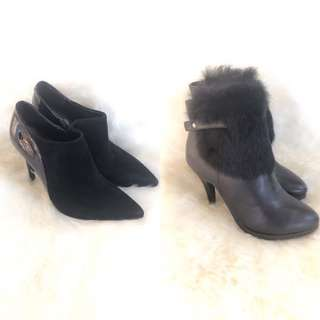 Leather Awesome Ankle boots