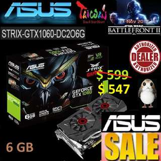 Asus STRIX GTX 1060 DC2O 6GB.., ( June 2018 Asus Sales )